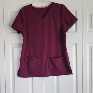 Heart Soul scrub top, size medium